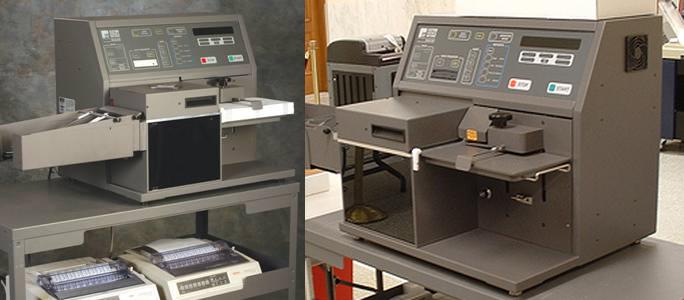 ES&S central count scanner