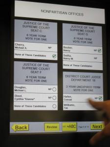 Sequoia (Dominion) AVC Edge – Verified Voting