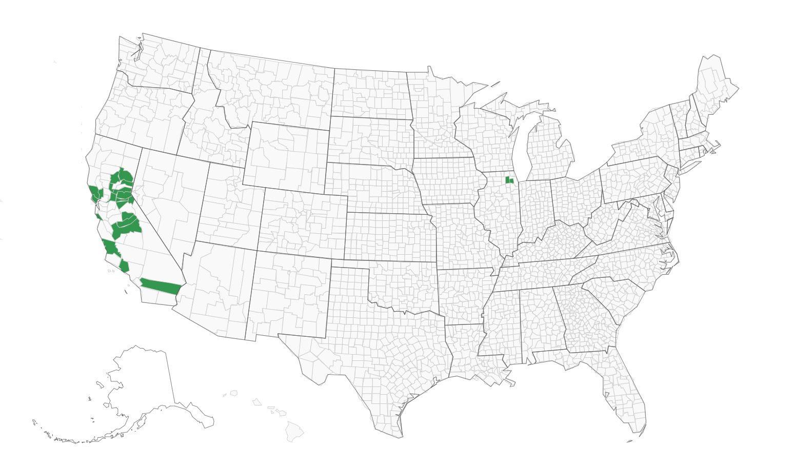 DFM Associates EIMS map