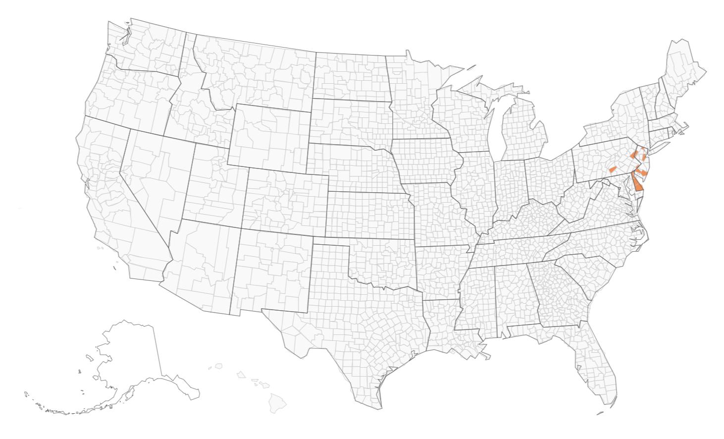 ExpressVote XL Usage Map 2022